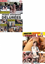 Pack 2 dvd Amateur n°2