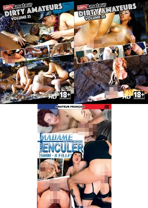dvd Pack 3 dvd Amateur n°8