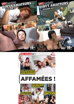 dvd Pack 3 dvd Amateur n°10